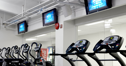 Presentation Products Higher Education Fitness Centers