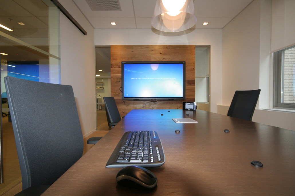 Technology For Corporate Room Types Presentation