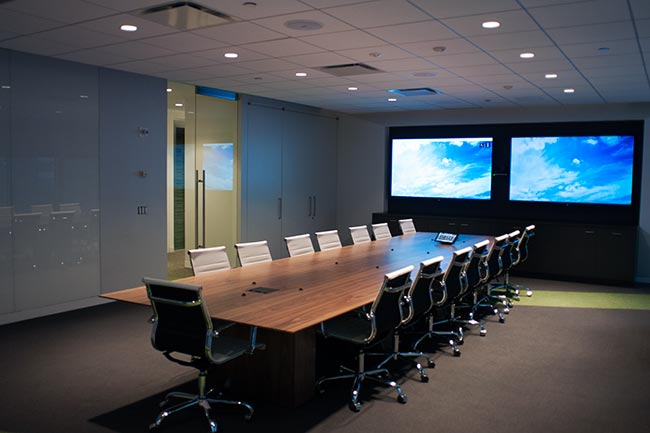 Modern London Meeting Rooms