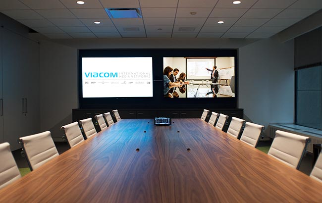 Viacom Conference Rooms Presentation Products Inc