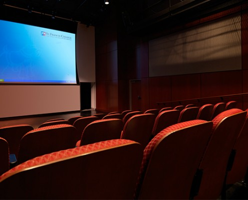 audiovisual system for a college theater