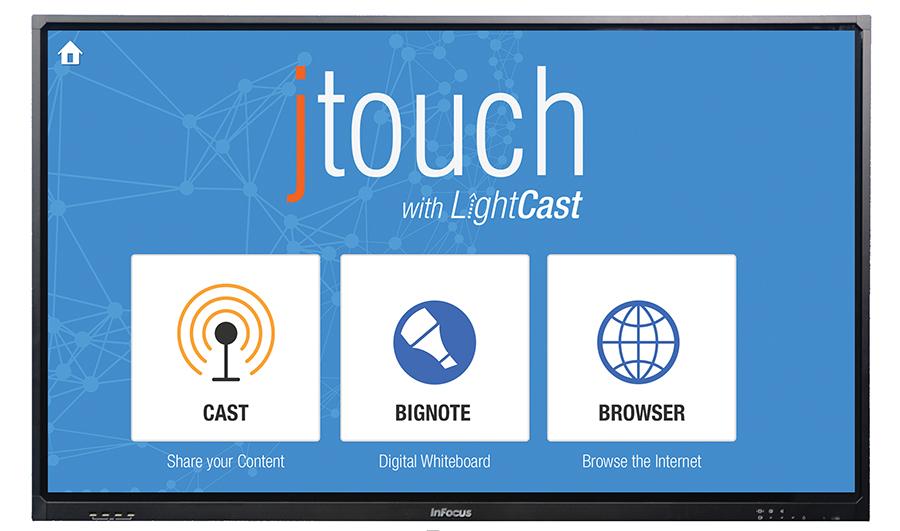 InFocus -JTOUCH-LIGHTCAST