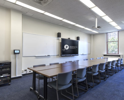 NYC, Higher Education Classroom AV, Audiocisual