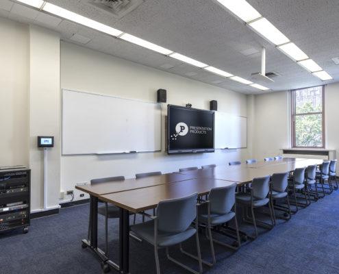 NYC, Higher Education Classroom AV, Audiocisual